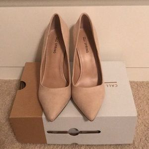 Call It Spring Ivory Pumps